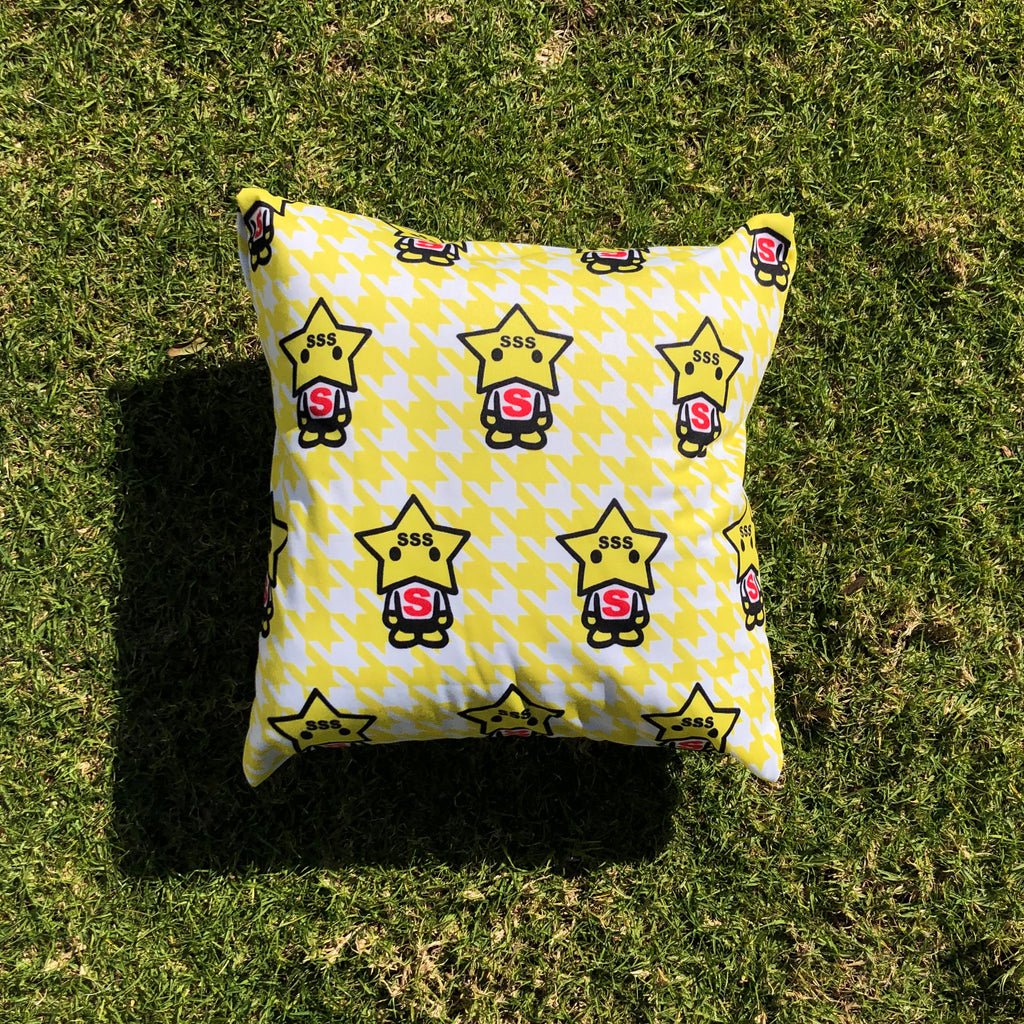 Yellow StarBoy Pillow