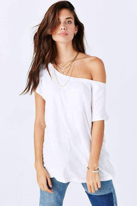 Off The Shoulder Tee Dress