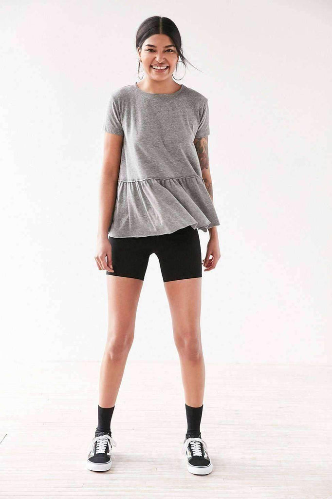 Dusty Road Peplum Tee Dress