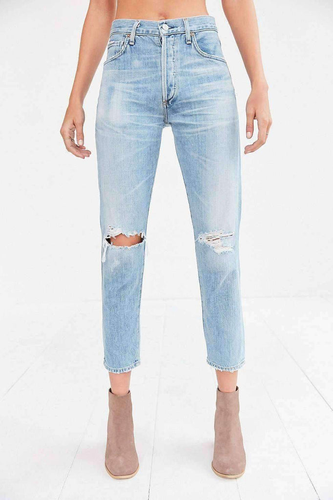 Humanity Liya High-Rise Jean - Torn