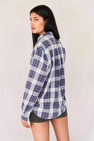 Image of Vintage Assorted Washed Flannel Shirt