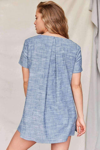 Image of Urban Renewal Remade Back Pleat Shift Dress