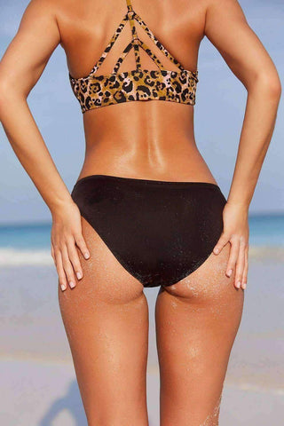 Under Cutout Hipster Bikini Bottom