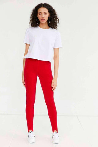Image of Stirrup Velour Legging