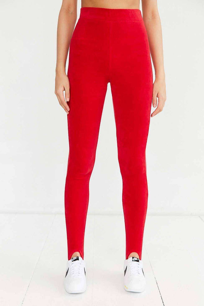 Stirrup Velour Legging