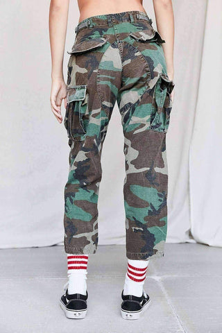 Image of Vintage Stonewashed Camo Surplus Pant