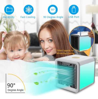 Image of Personal Air Cooler- Cools - Purifies - Glows