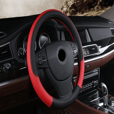 Image of Luxury Car Steering Wheel Cover