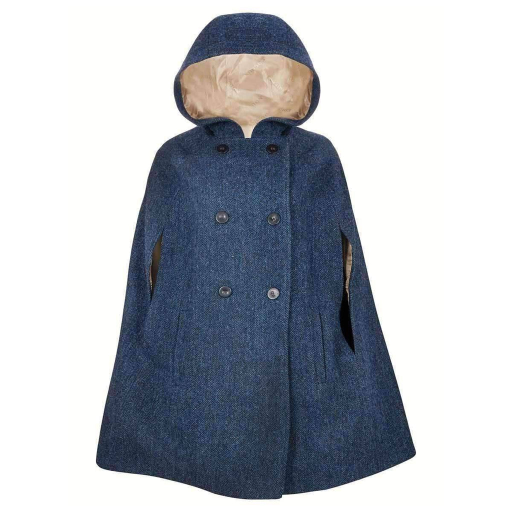 Navy Grace Hooded