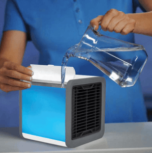 Personal Air Cooler- Cools - Purifies - Glows