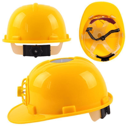 Image of Cool Worker Solar Fan Helmet