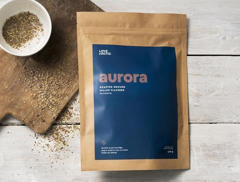Aurora – Roasted Ground Milled Flaxseed, 400g