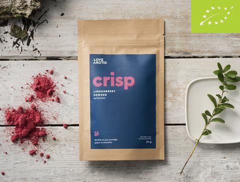 Crisp – Organic Lingonberry Powder, 70g
