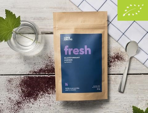 Fresh – Organic Blackcurrant Powder, 70g
