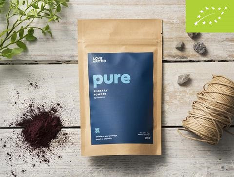 Pure – Organic Bilberry Powder, 70g