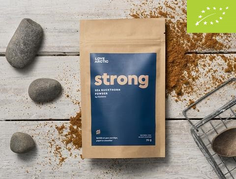 Strong – Organic Sea Buckthorn Powder, 70g