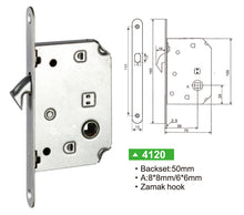 Oblong Bathroom Lock