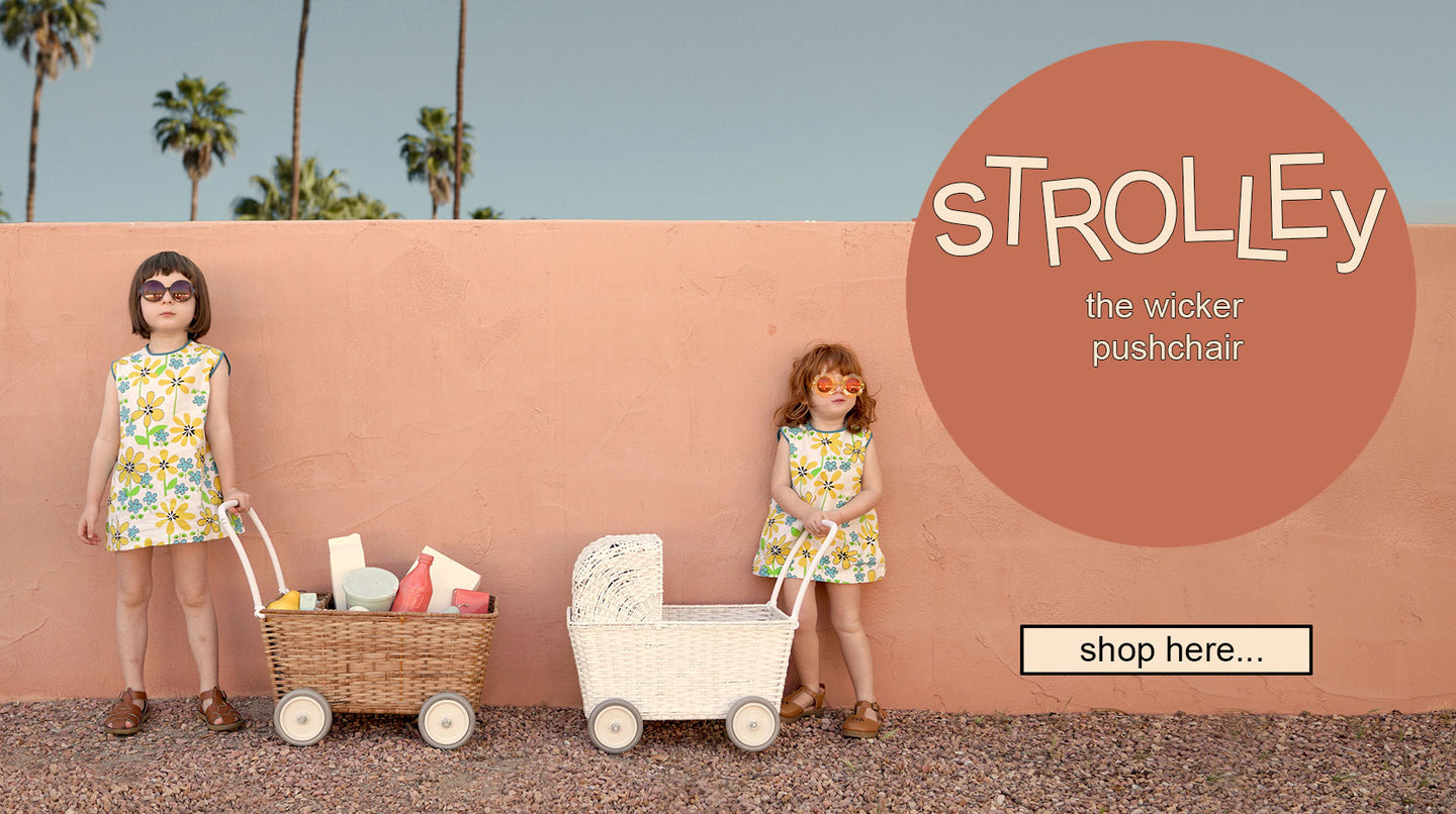 Shop the Olli Ella Strolley Basket at Claude and Co