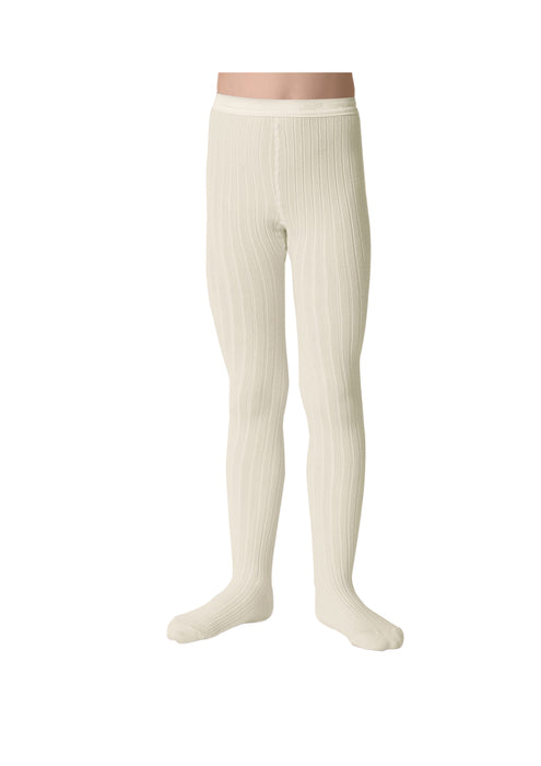 Collegien White Tights - Claude & Co