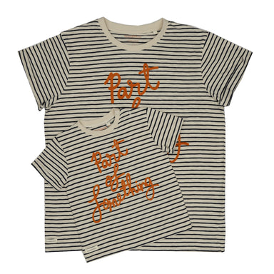 'Part Of Something' Stripe Tee Child - Charity Donation - Claude & Co