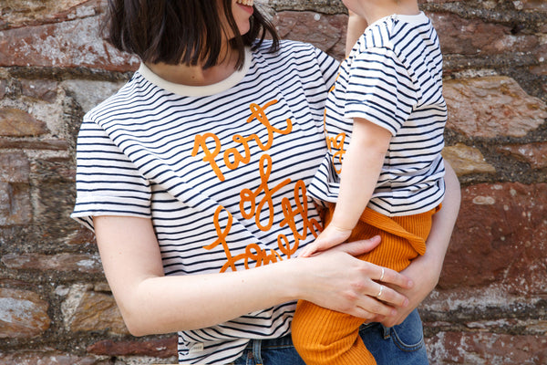 Part Of Something - Charity Tee Stripe Adult - Claude & Co