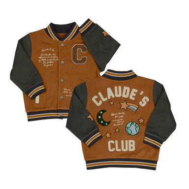 Claude's Club Varsity Jacket