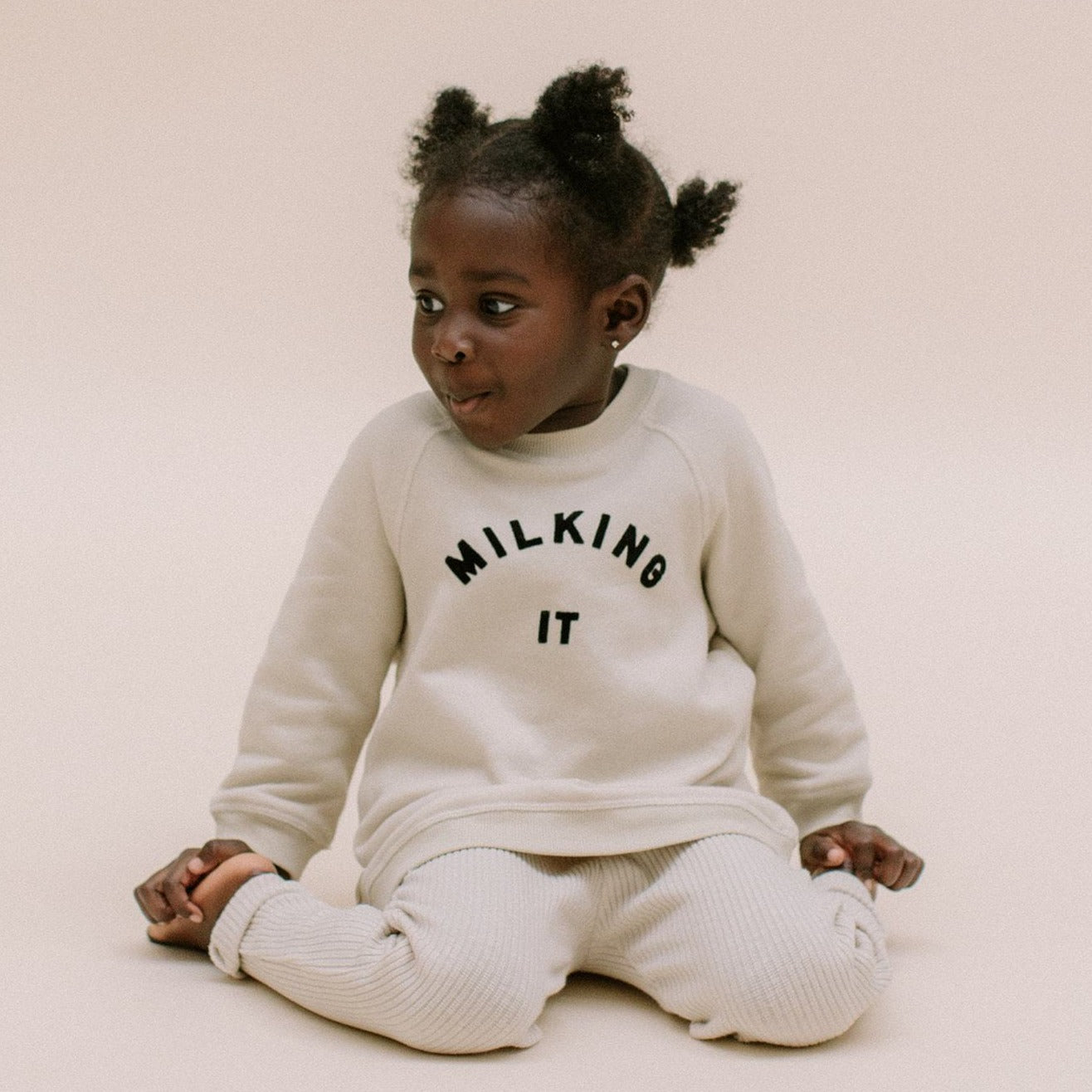 Milking It ® Oat Sweater Child