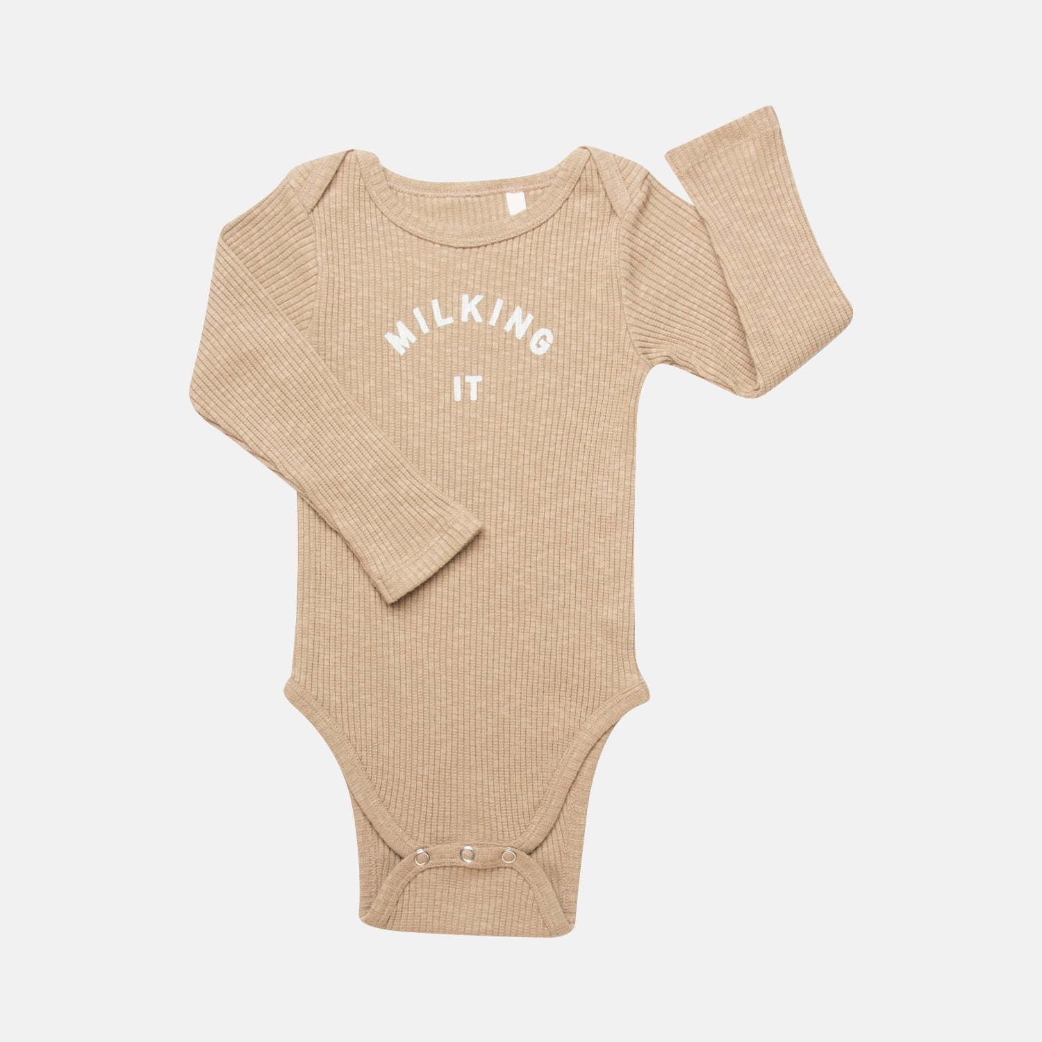 Milking It ® Organic Caramel Bodysuit