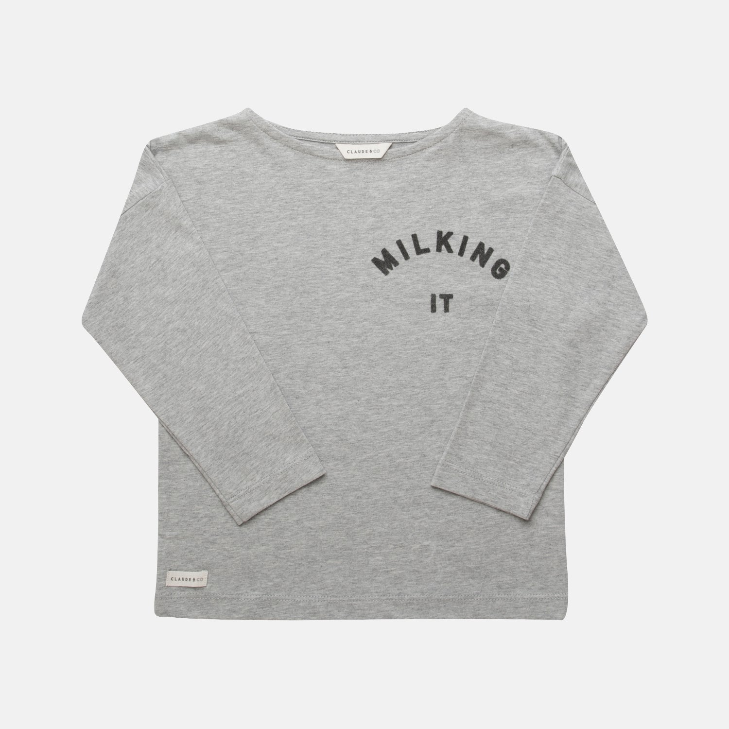 Milking It ® Long Sleeve Child Tee