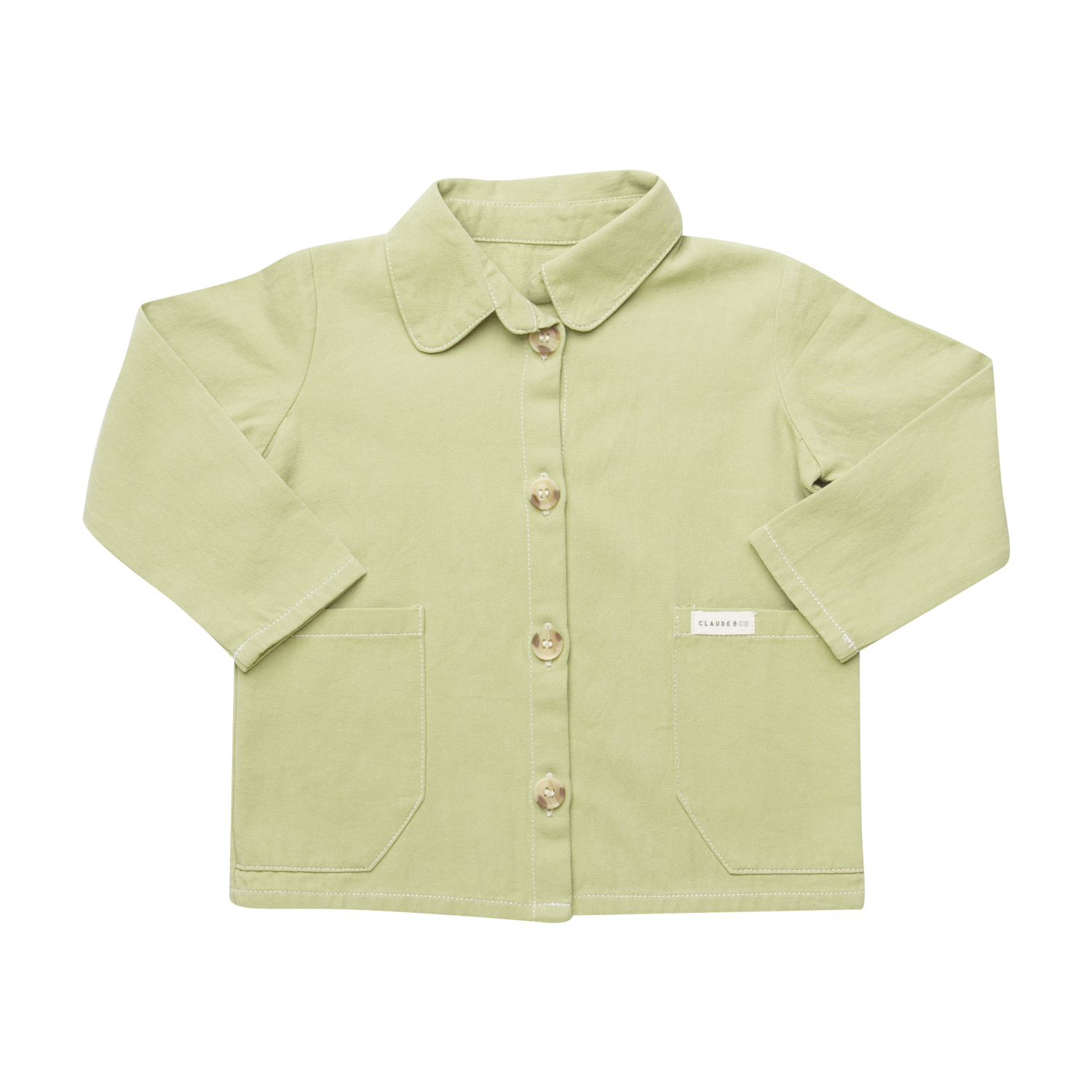 Embroidery Worker Jacket Sage Green