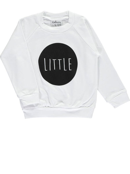 Little Sweatshirt White - Claude & Co