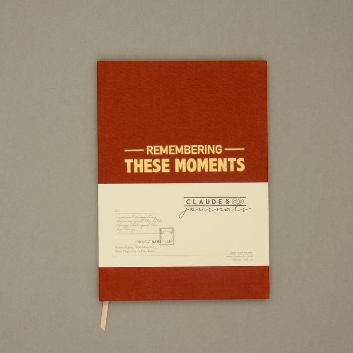 Remembering These Moments - Rust Linen