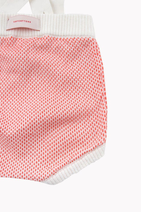 TINY COTTONS KNITTED BLOOMER RED - Claude & Co