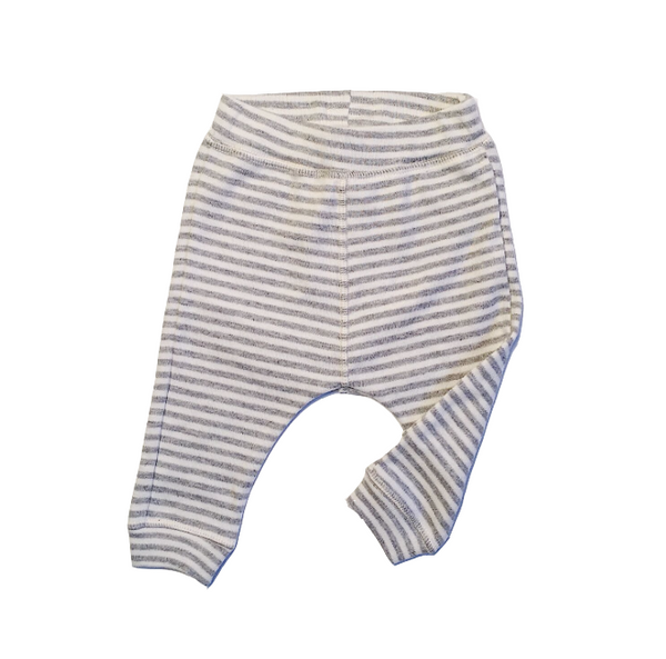 Organic Zoo Grey Stripe Legging
