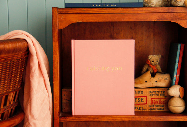 WRITE TO ME - RAISING ME - LETTERS TO MY BABY - PINK - Claude & Co