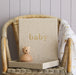WRITE TO ME - BABY JOURNAL WITH KEEPSAKE BOX NATURAL (pre order) - Claude & Co