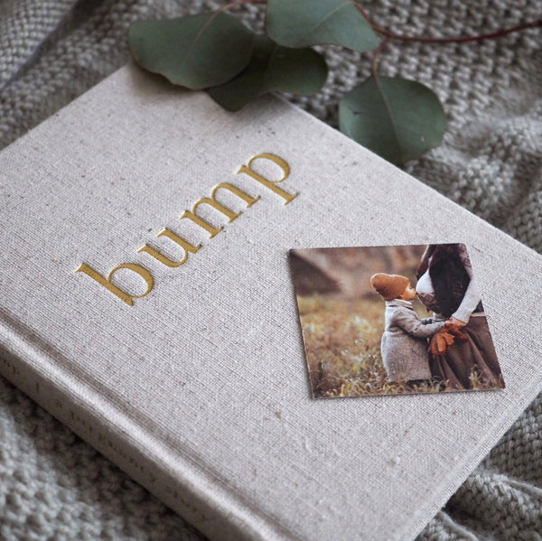 WRITE TO ME - BUMP - A PREGNANCY JOURNAL NATURAL - Claude & Co
