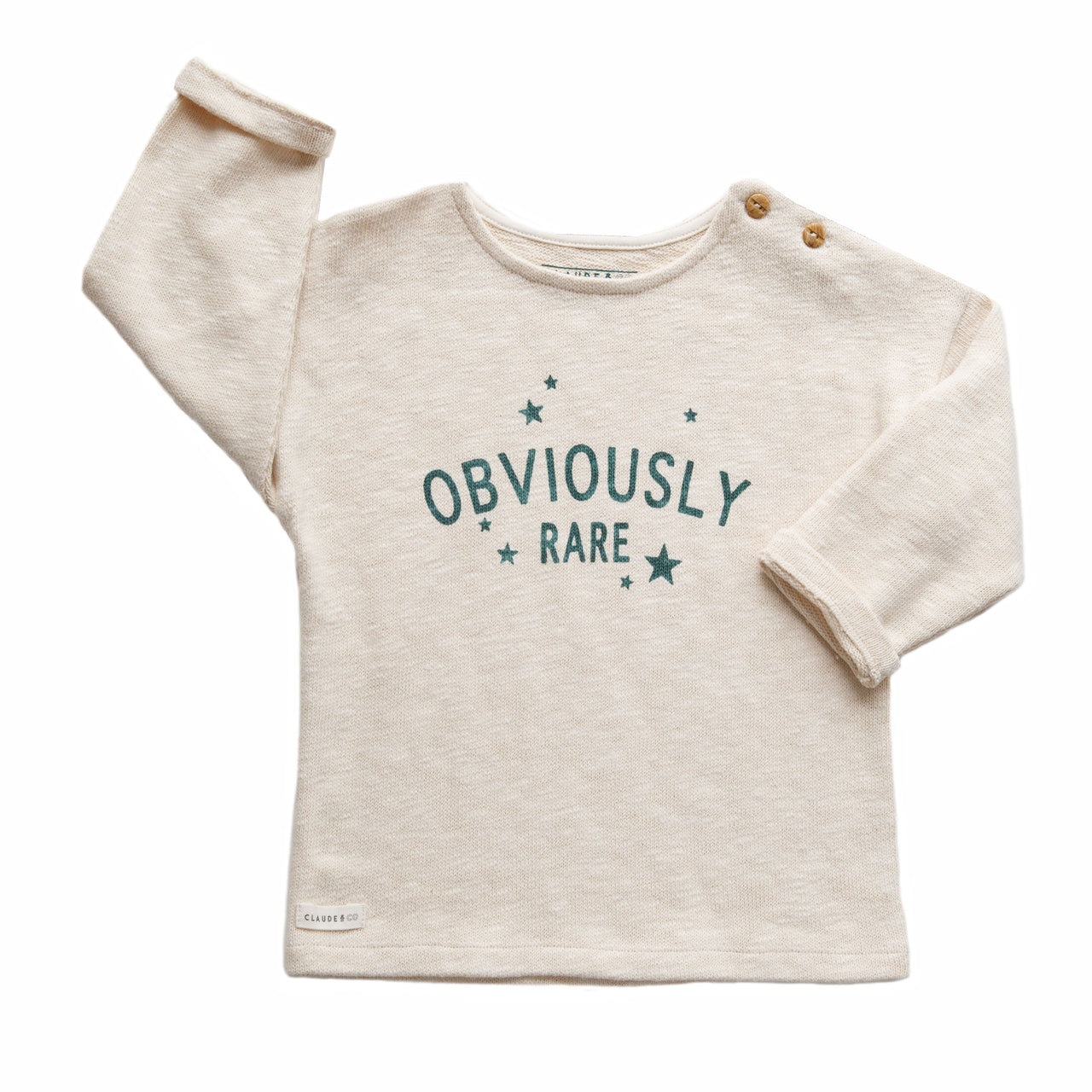 Claude and Co - Obviously Rare Knitwear Oatmeal Unisex - Claude & Co