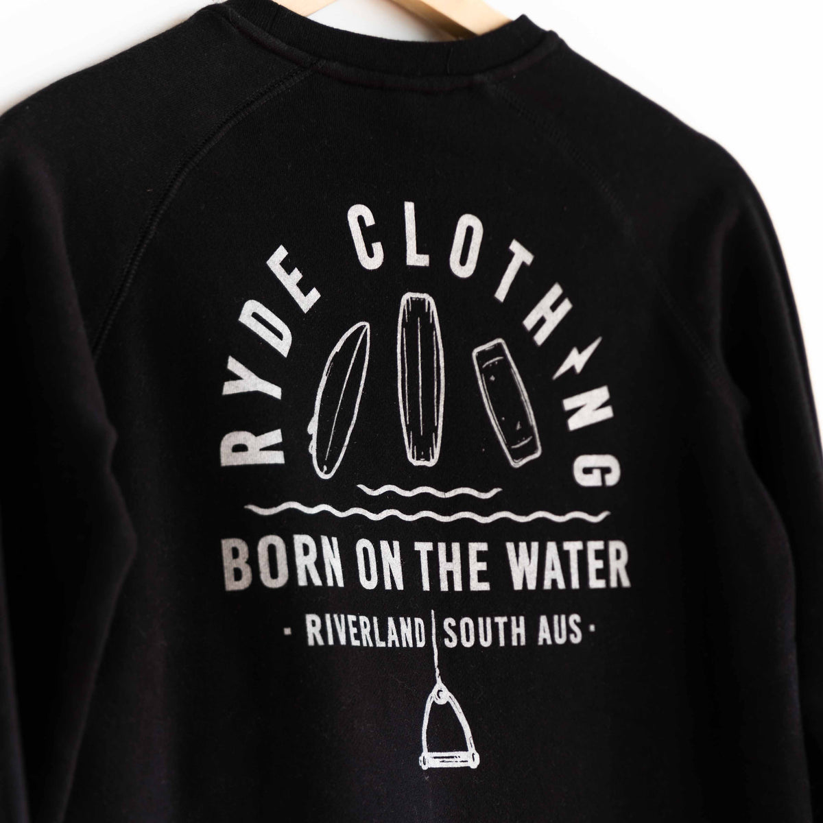 Kids Born On The Water Crewneck