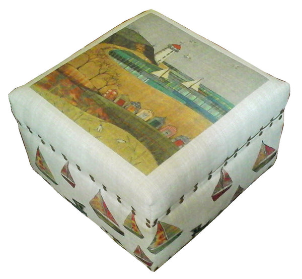 Sail Away With Me Footstool / Box