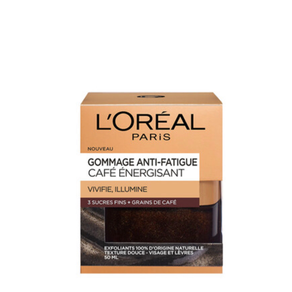 Gommage anti-fatigue au café Energisant