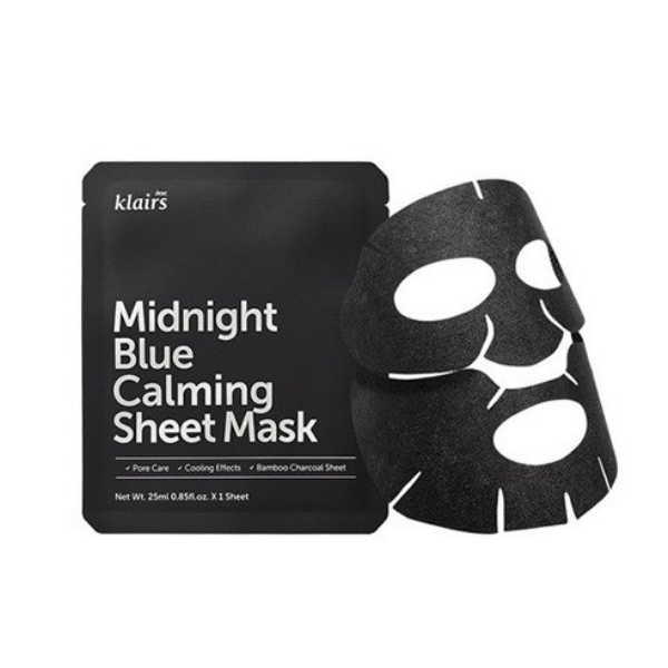 Masque en tissu apaisant Midnight blue calming