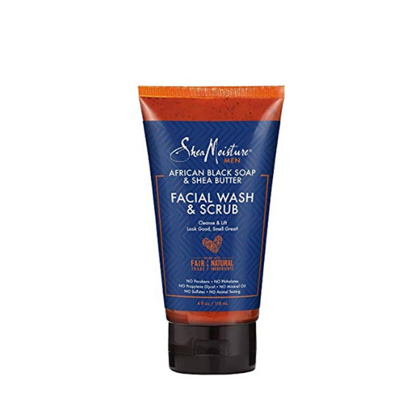 Nettoyant Exfoliant Homme Shea Butter & African Black Soap