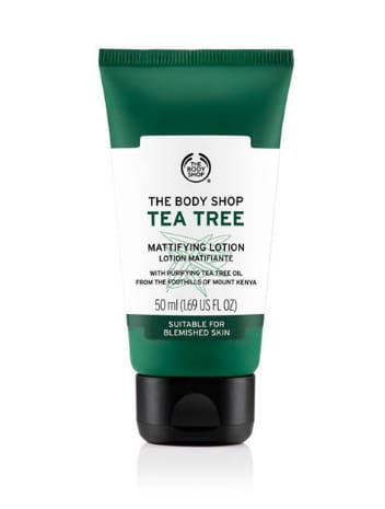 Lotion Matifiante Arbre À Thé 50 Ml - The Body Shop Nubian Beauty Dakar Senegal