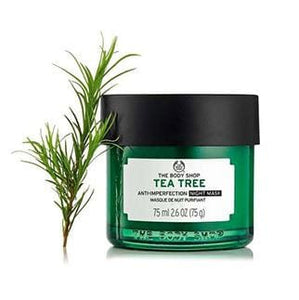 Masque De Nuit Purifiant Arbre À Thé 75 Ml - The Body Shop Nubian Beauty Dakar Senegal