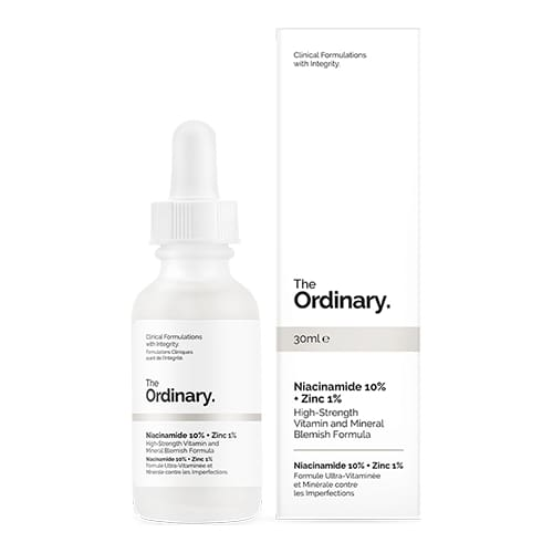 Niacinamide 10% + Zinc 1% - The Ordinary Nubian Beauty Dakar Senegal
