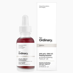 Peeling Aha 30% Bha 2% - The Ordinary Nubian Beauty Dakar Senegal