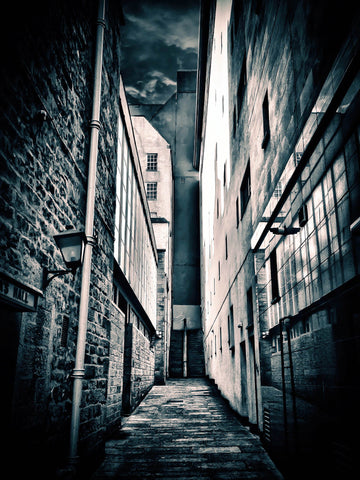 """The Alley (Monochrome)"""