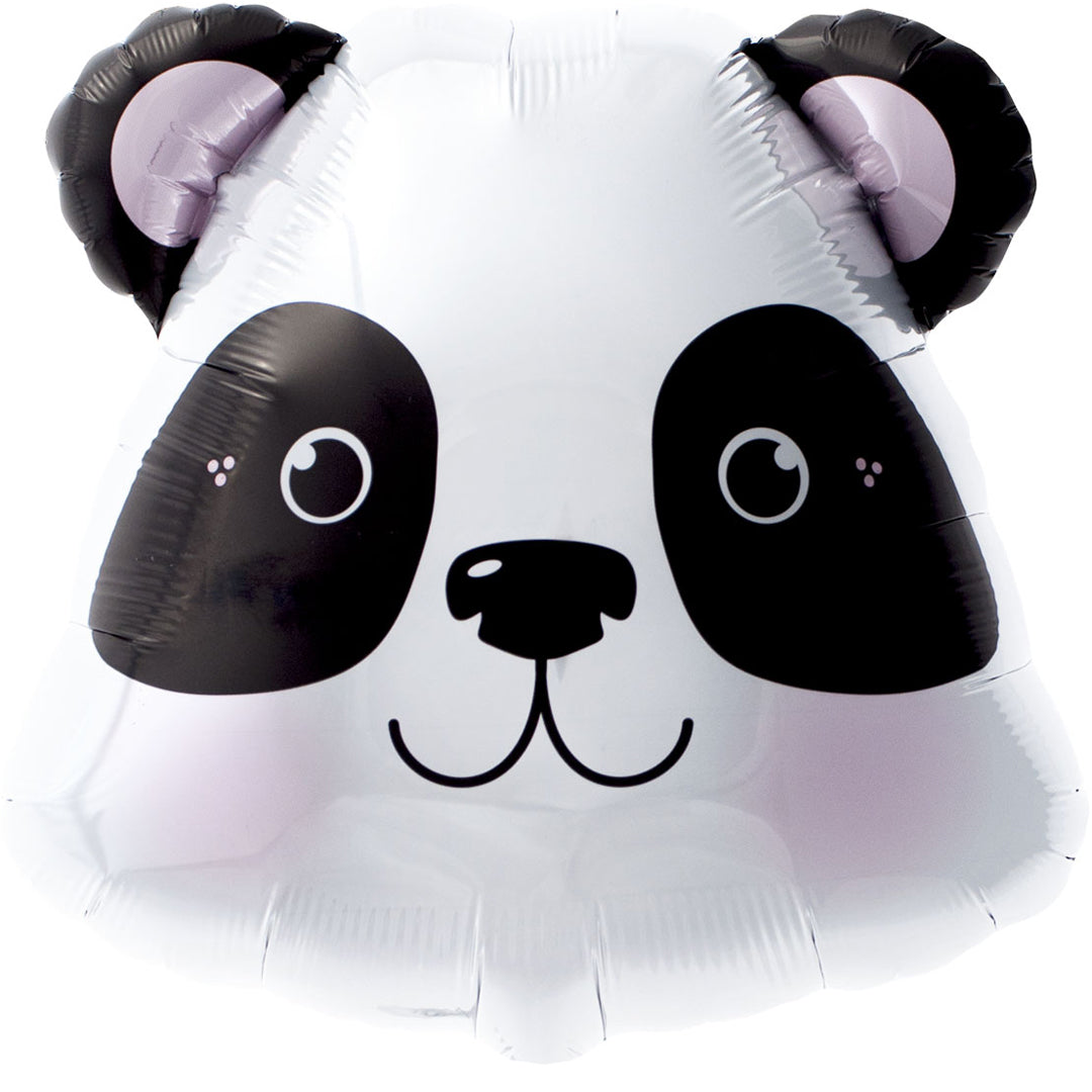 PANDA HEAD SUPERSHAPE FOIL BALLOON from Flingers Party World Bristol Harbourside who offer a huge range of fancy dress costumes and partyware items