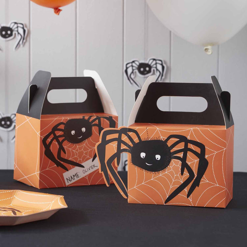 SPOOKY SPIDER PARTY BOXES from Flingers Party World Bristol Harbourside who offer a huge range of fancy dress costumes and partyware items